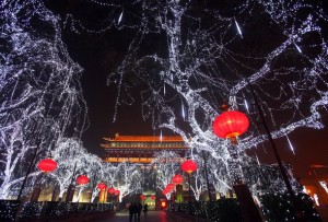 Chinese Prepare For 2009 Christmas