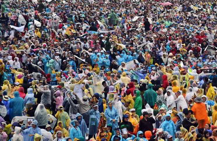 Папа Франциск посетил последную страну своего азиатского турне - 316NEWS