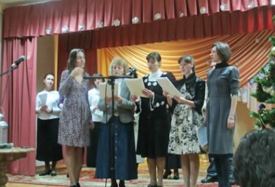 Творческий концерт для христиан в Гомеле1