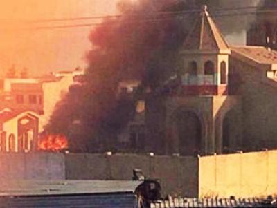 Боевики ИГИЛ сожгли армянскую церковь в Мосуле1