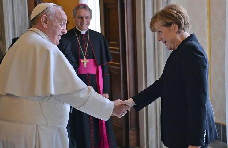 Встреча понтифика и канцлера Германии состоялась