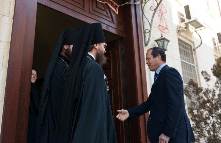 В Иерусалиме подожгли православную семинарию