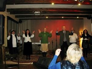 В библейском колледже Минска прошел концерт на языке жестов1
