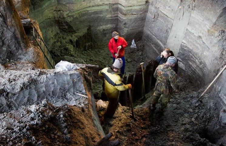 Археологи нашли целую улицу древней Киевской Руси ХІ-ХІІІ века