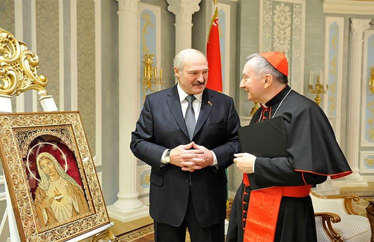 Ватикан примет с визитом президента Беларуси