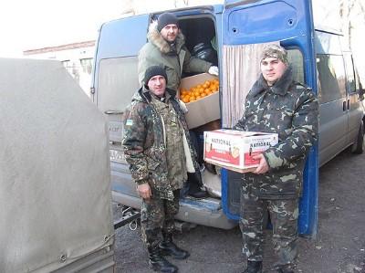 Команда капелланов «Украинской Миссионерской Церкви» помогла жителям Луганской области1