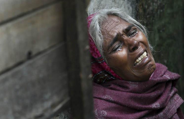 Неизвестные осквернили католический храм в Индии