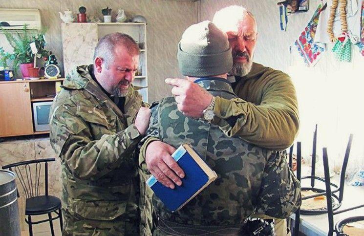 Команда капелланов «Украинской Миссионерской Церкви» помогла жителям Луганской области