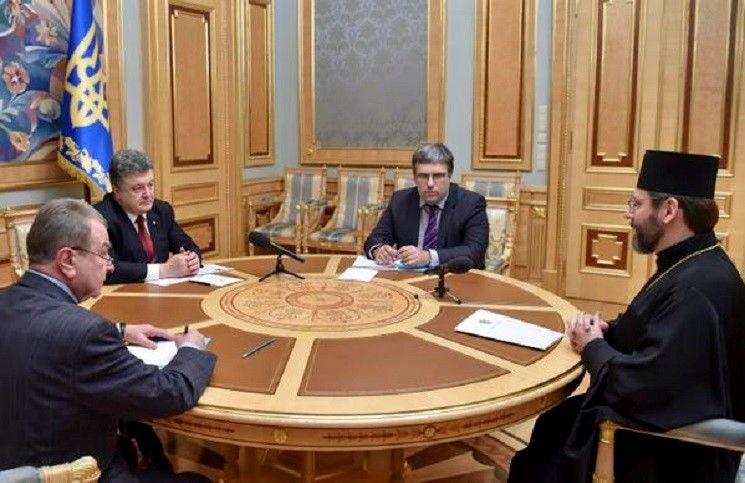Президент Порошенко встретился с главой Греко –католической церкви