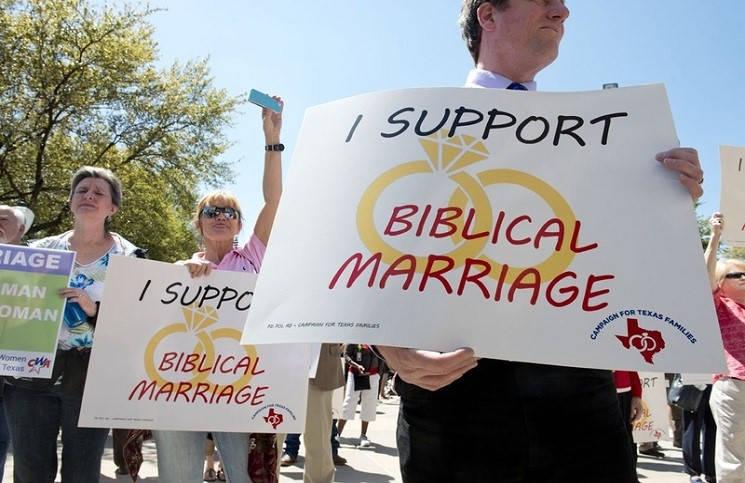 Верховный суд США может официально разрешить однополые браки