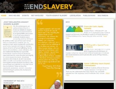 В Ватикане запущен сайт по противодействию торговле людьми1