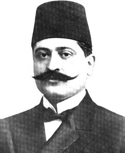 Один из организаторов армянского геноцида – Талаат - паша
