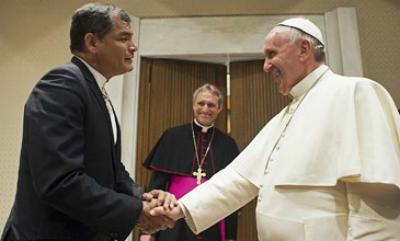 Папа Франциск встретился с главами нескольких государств1