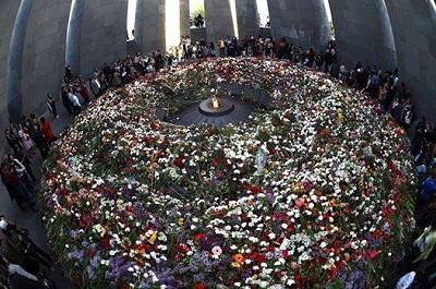 Цицернакаберд – памятник жертвам геноцида – 2015 год