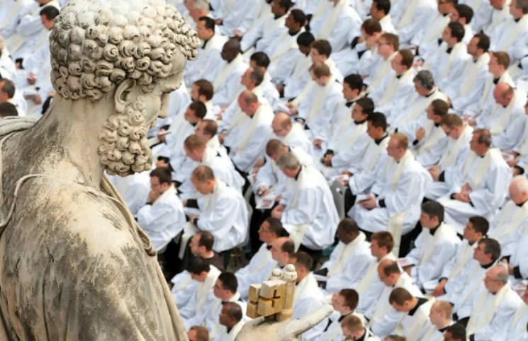 За 10 лет в мире стало на 12 больше католиков