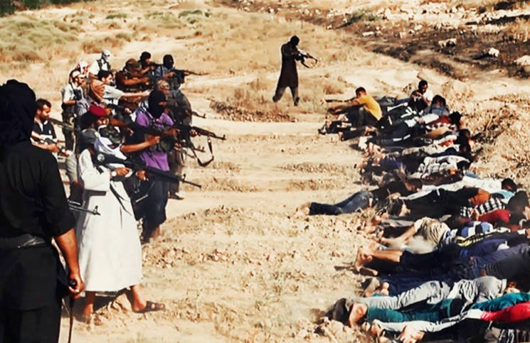 ИГ распространило видео с убийством 30 христиан