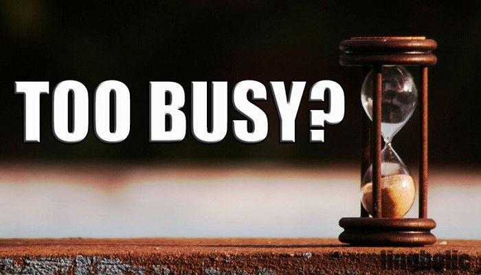Что слишком заняты кто то