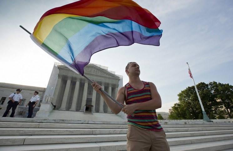 Легализации однополых браков мнение в суде США разделились