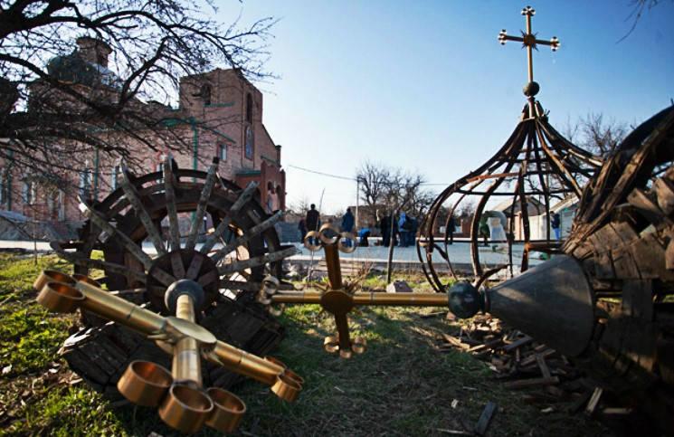 На Украине восстановят православные храмы