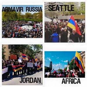 Армения и весь мир провели мероприятия в память геноцида армян: обзор