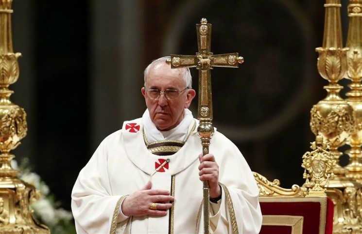Папа Франциск помолился за мир ко Дню Победы