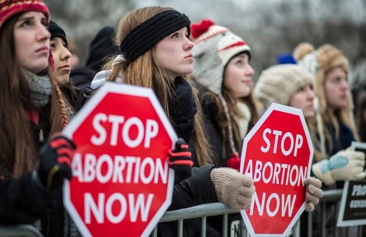 Рим марш против абортов и эвтаназии