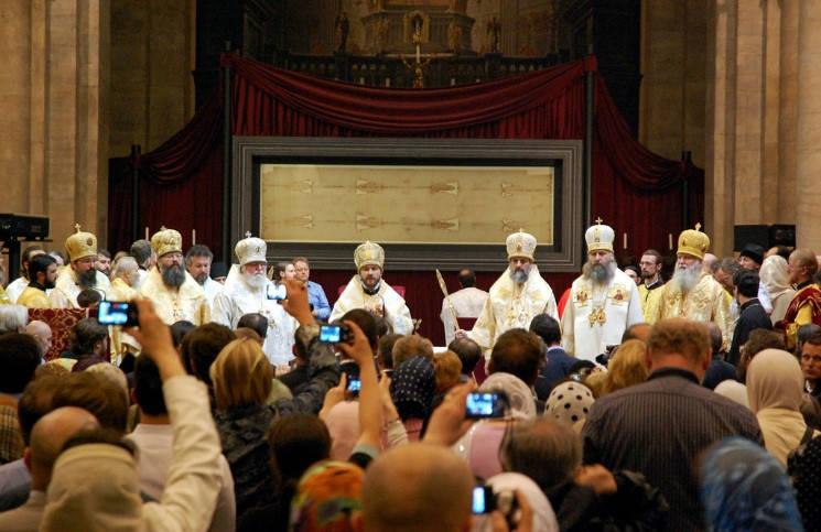 Более 500.000 христиан уже увидели Туринскую плащаницу