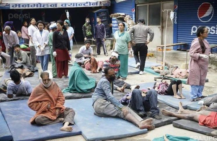 Новое землетрясение ужаснуло жителей Непала