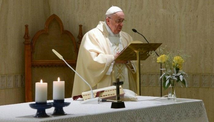 Папа Франциск о водительстве Святого Духа