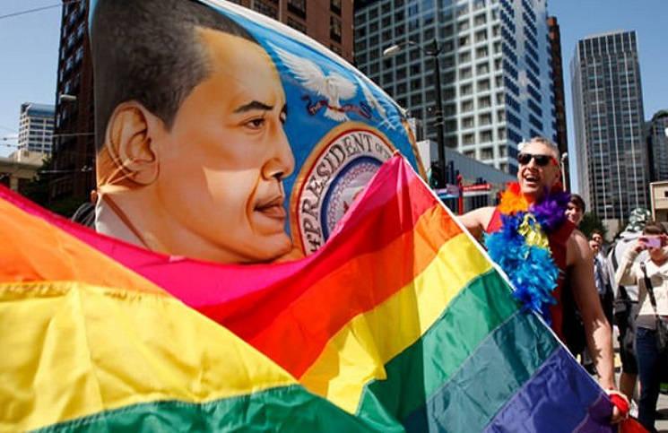 США предпочитают лидера гомосексуалиста