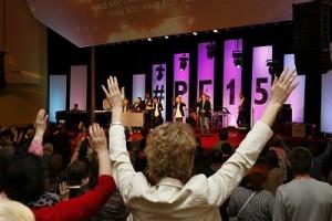 Молодежная конференция «Расширяя границы-15» прошла в церкви «Благая весть»