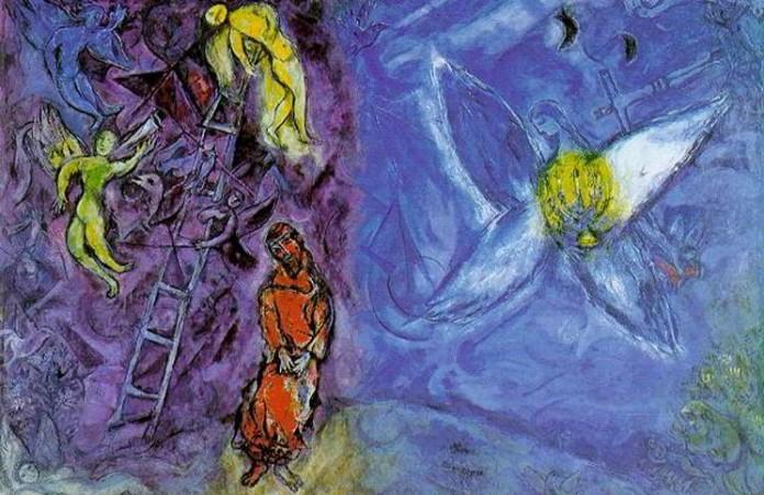 Выставка картин Марка Шагала Иллюстрации к Библии
