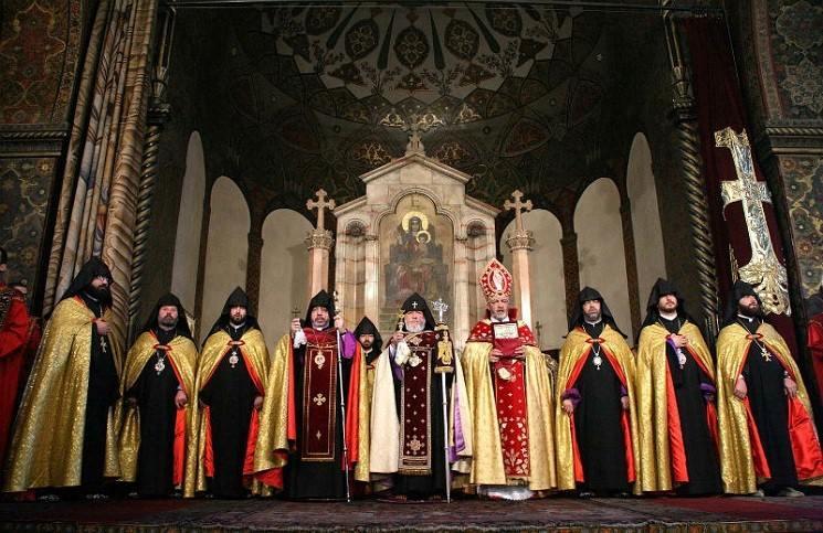 Армянская церковь отпраздновала 1712-летие со дня основания