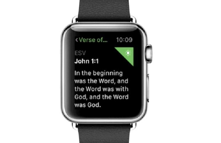 Библия для Apple Watch уже доступна