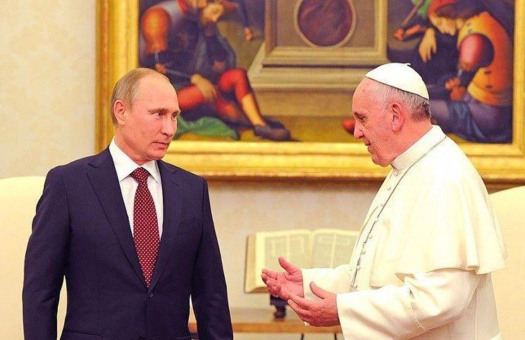 Ватикан Папа Франциск и Владимир Путин обсудили важнейшие вопросы
