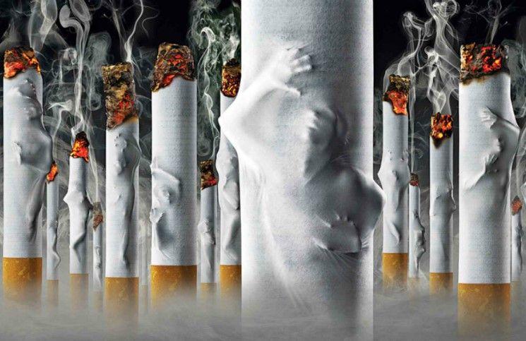 Ежегодно от курения умирают 6 млн. человек