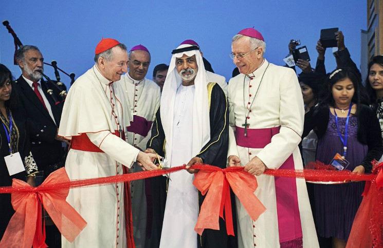 Открытие второго католического храма Арабские Эмираты