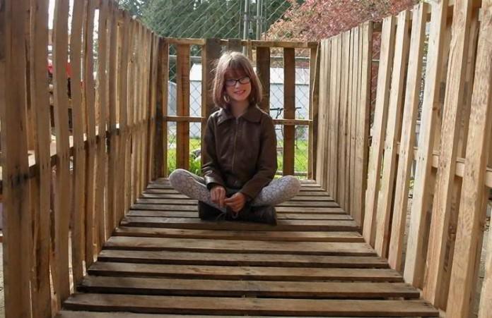 9-летняя Хейли Форт строит приюты для бездомных