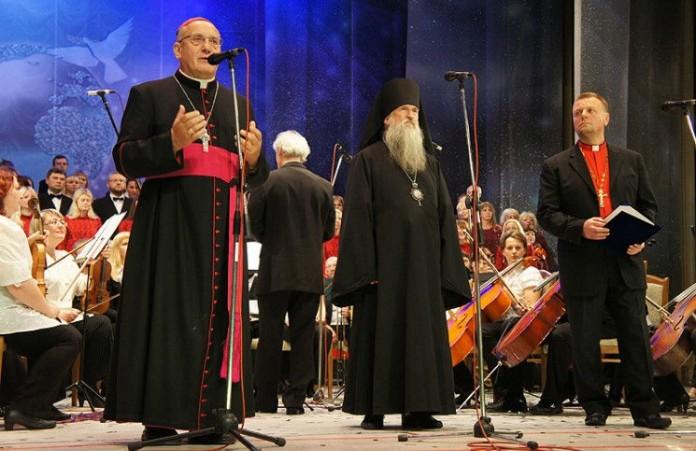 Беларусь Завершился фестиваль духовной музыки «Магутны Божа»
