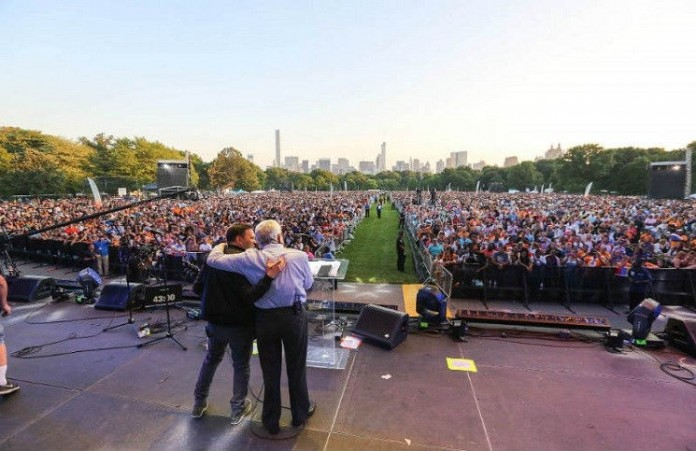 NY City Fest 2015 Масштабный фестиваль Евангелия