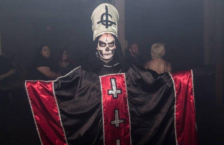 Satanic hand signs church of satan