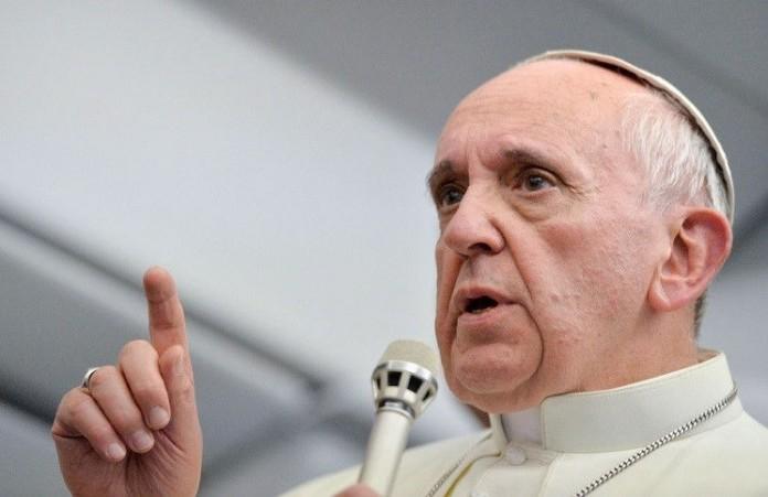 Папа Римский проповедовал для заключенных