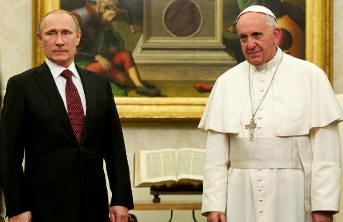 Папа Франциск встретится с Владимиром Путиным в ООН