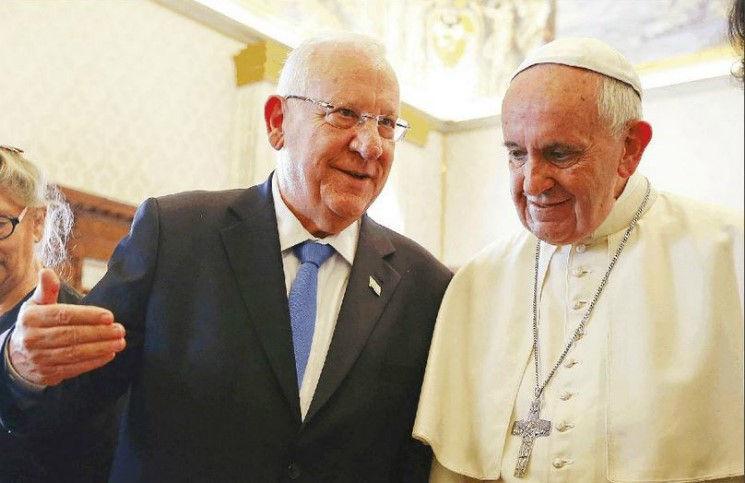 Папа Франциск призывает возобновить диалог между Израилем и палестинскими лидерами
