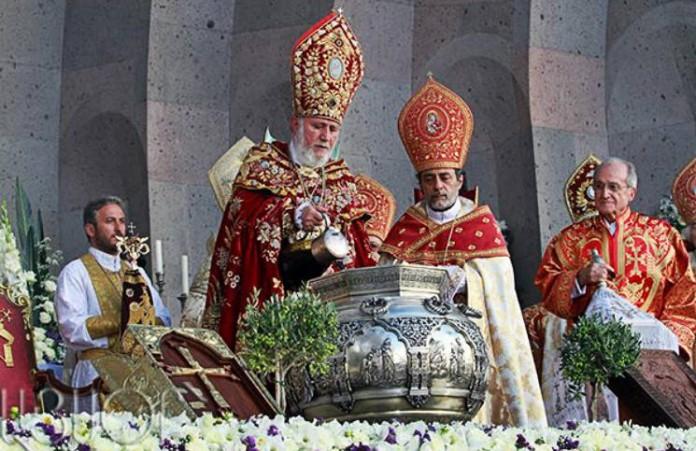 Праздник мироварения в Армении отметили с размахом