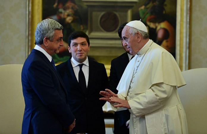Папа Франциск может посетить Армению в 2016