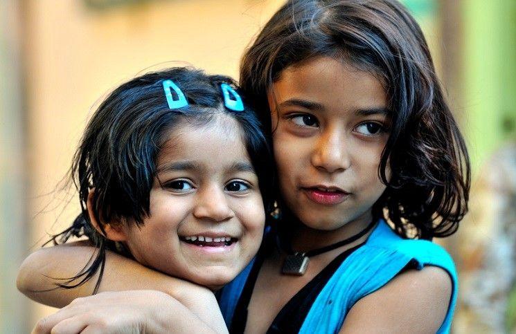 Встреча с ребенком, которого спонсируют «Слово Жизни» в Индии