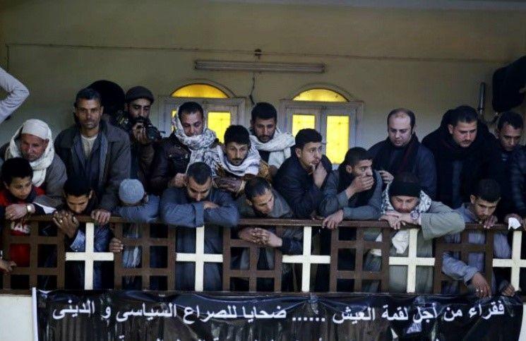Египет Строится церковь в честь коптов, убитых исламистами в Ливии