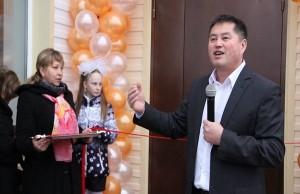 1 Освящение здания посeлка Излучинск