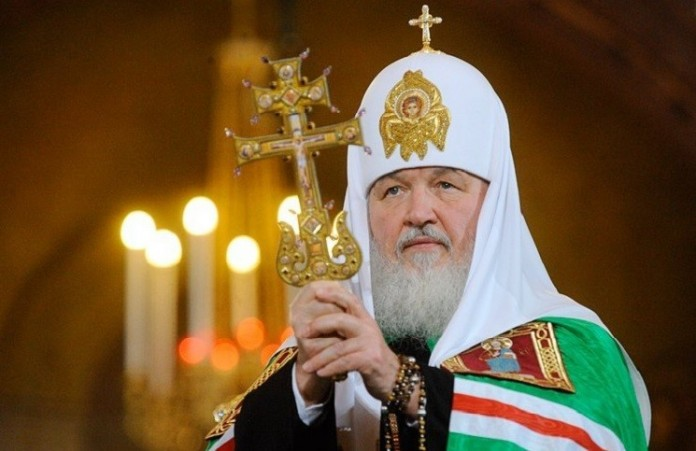 Патриарх освятил храм святым Кирилла и Мефодия